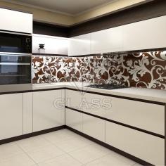 Кухонные фартуки (скинали) с покраской