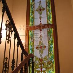 Окна с художественной росписью