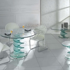 Стеклянные столики