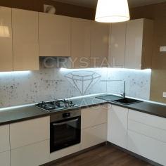 Кухонные фартуки (скинали) с фотопечатью стекло диамант 2020