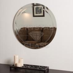 Круглое зеркало с фацетом, фаской