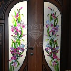 Двери с художественной росписью