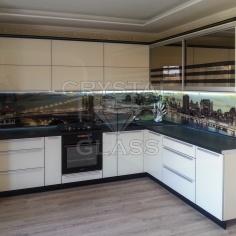 Мебельные (кухонные) фасады с художественной покраской