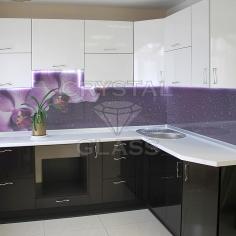 Кухонные фартуки (скинали) фотопечатью