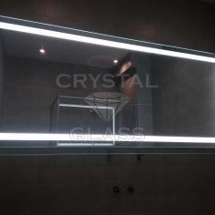 Большое зеркало с LED подсветкой