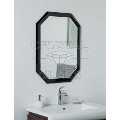 Зеркало комбинированое лакобель + серебро