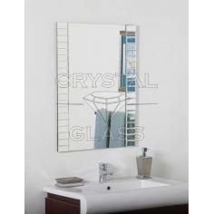 Зеркало комбинированое серебро + серебро + фацет