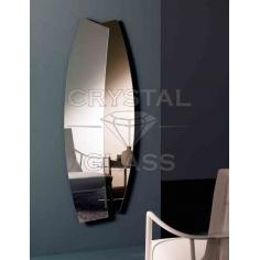 Зеркало комбинированное бронза + серебро