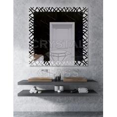 Зеркало с подсветкой квадратное