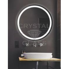 Круглое зеркало с подсветкой