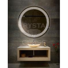 Зеркало с подсветкой круглое