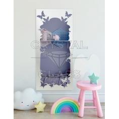 Зеркало с рисунком в детскую