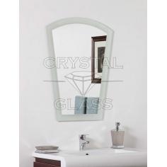 Зеркало с матировкой по амальгаме
