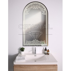 зеркало с рисунком арка