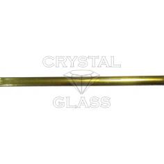 Свинцовая лента Decra Led Латунь (Oval Brass) 4,5 мм\50м