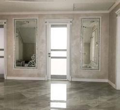 Зеркала с художественной матировкой (пескоструй)