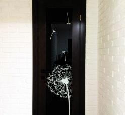 Двери с художественной покраской