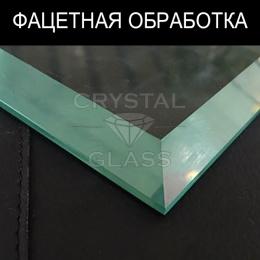 Фацет на стекле и зеркале