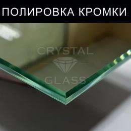 Полировка кромок на стекле