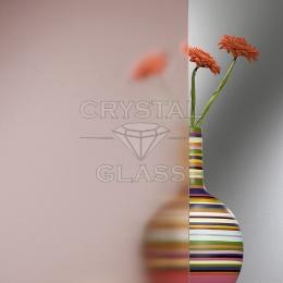Матовое стекло (Сатин) розовый