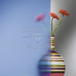 Матовое стекло (Сатин) синий