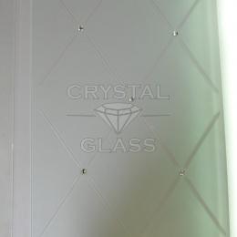 Камни SWAROVSKI на стекле